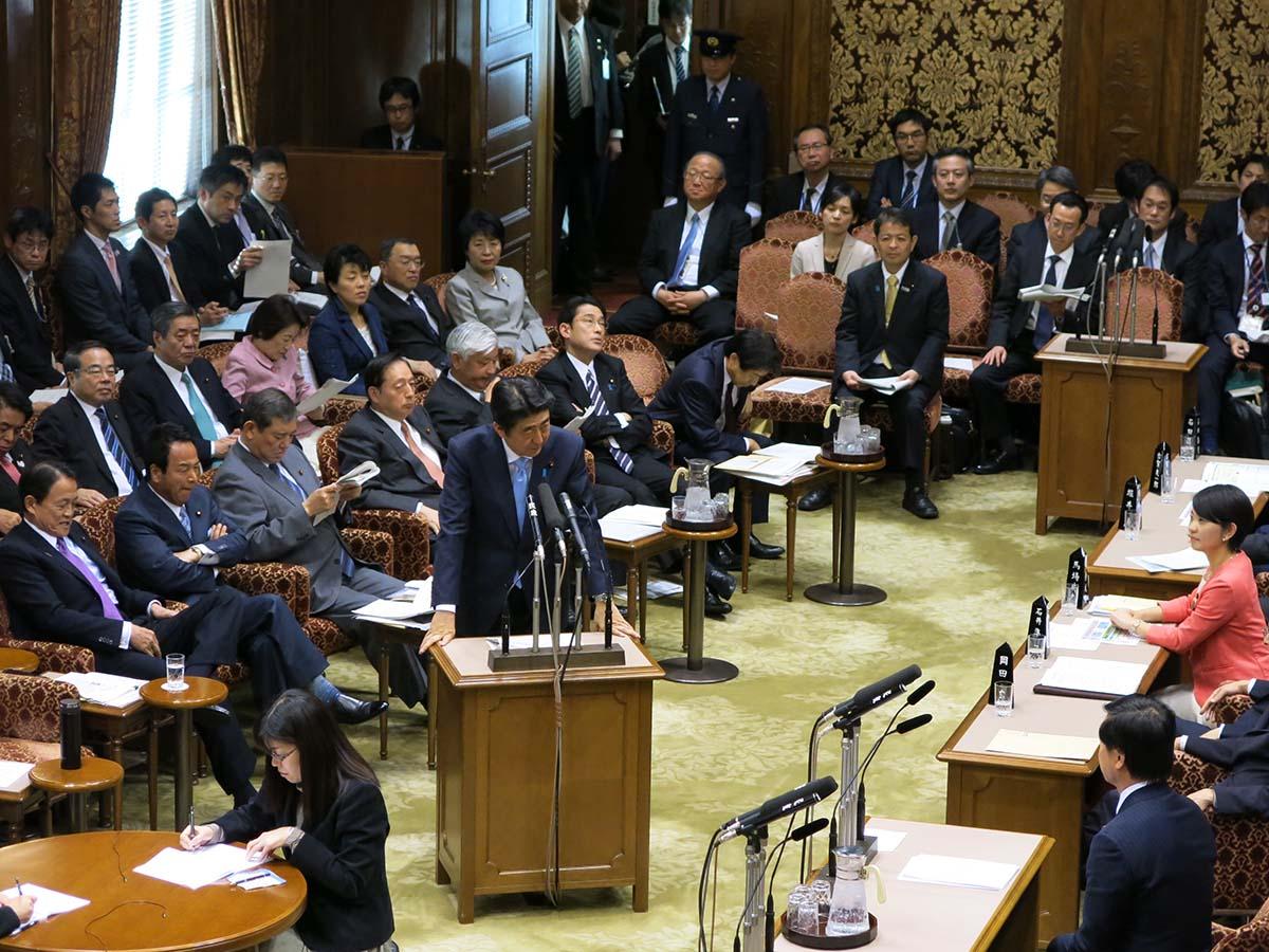 参議院予算委員会、清和研議員総会に出席、長野県議会議員酒井茂先生来訪、平成27年度予算成立挨拶まわり